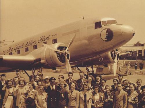 Book cover: Virginia Aviation