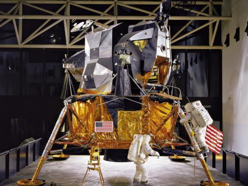 Lunar Module 2 in Exploring the Moon