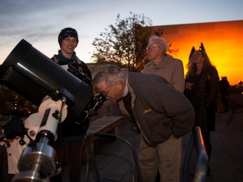 Stargazing at Museum Moonshine