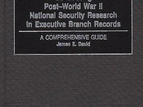 Book Cover: Conducting Post-WW II National Security Research