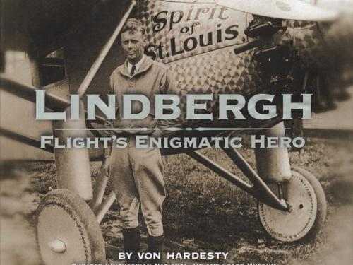 Book Cover: Lindbergh, Flight's Enigmatic Hero