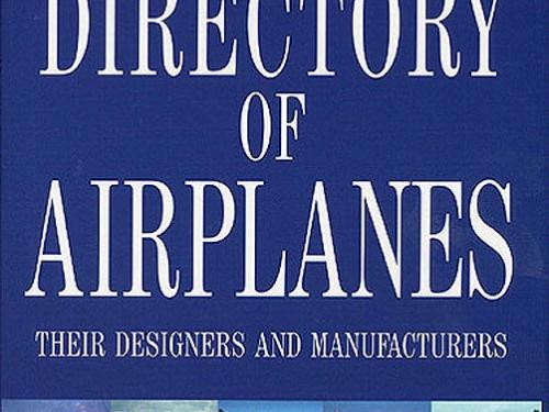Book Cover: Smithsonian NASM Directory of Airplanes