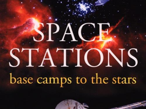 Book cover: Space Stations, Base Camps