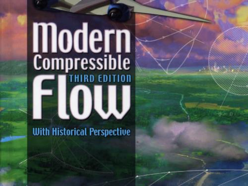 Book cover: Modern Compressible Flow