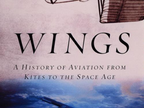 Book cover: Wings paperback