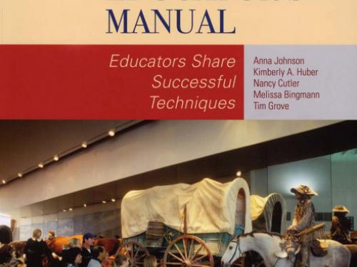 Book cover: The Museum Educator's Manual