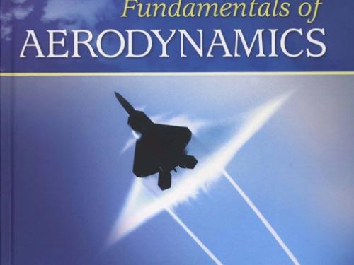 Book cover: Fundamentals of Aerodynamics