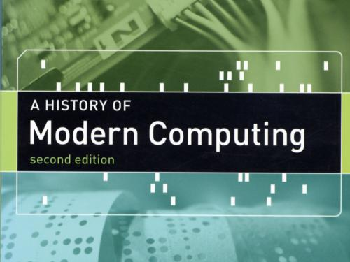 Book cover: History of Modern Computing