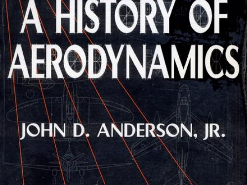 Book cover: A History of Aerodynamics