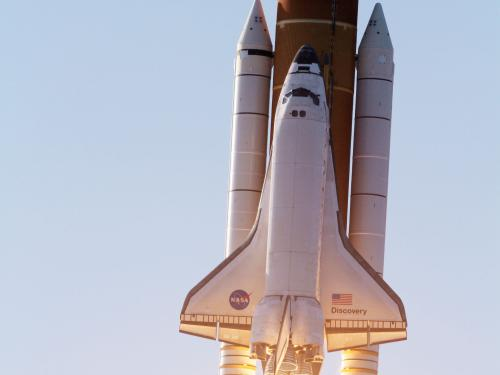 Discovery Launches on Final Flight STS-133