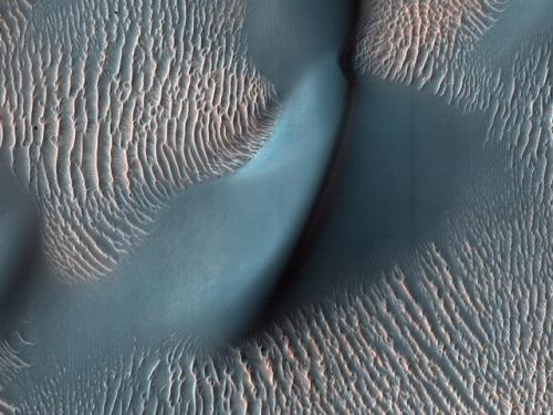 Mars – Sand Dunes and Ripples in Proctor Crater