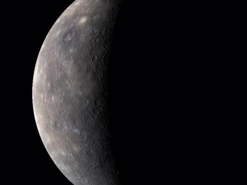 A Color View of the Solar System's Innermost Planet  - Mercury