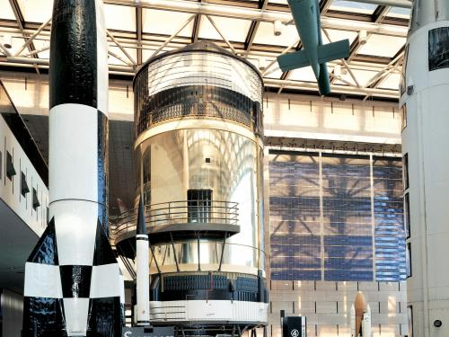 Skylab, America's first space station in Space Race