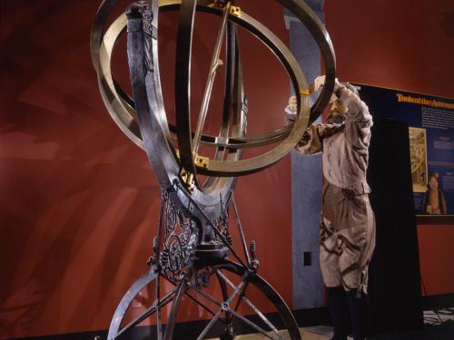 Explore the Universe Exhibition Armillary Sphere