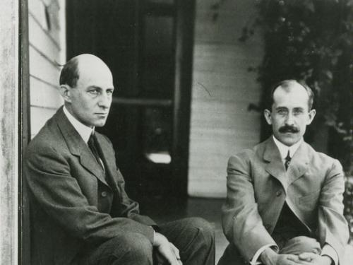 Wilbur and Orville Wright in Dayton, Ohio