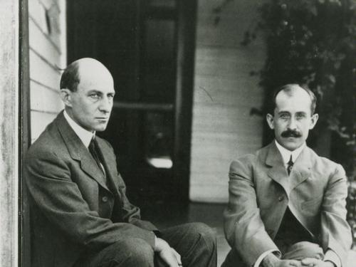 Wilbur and Orville Wright in Dayton, Ohio