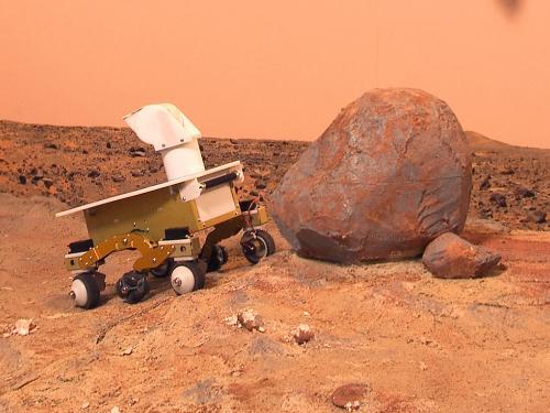 NASM Mars Yard