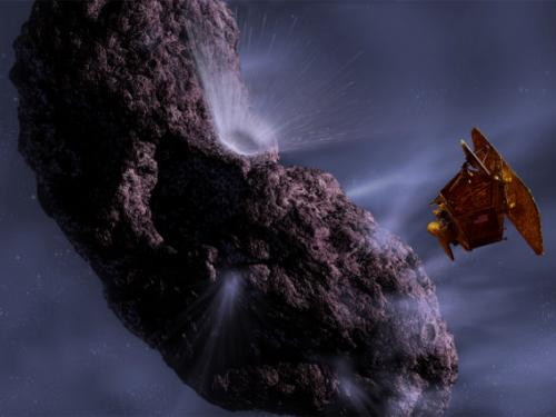 Deep Impact Mission - The Moment of Impact