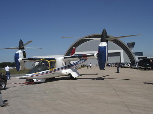 XV-15 tilt rotor arrives at the Udvar-Hazy Center