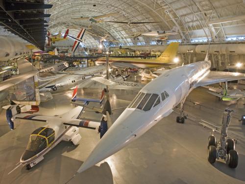 Boeing Aviation Hangar at Steven F. Udvar-Hazy Center