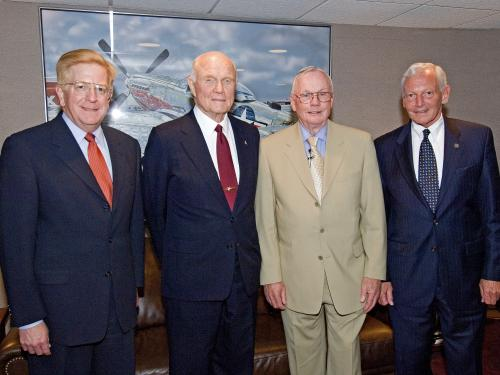 John H. Glenn Lecture Featuring Neil Armstrong