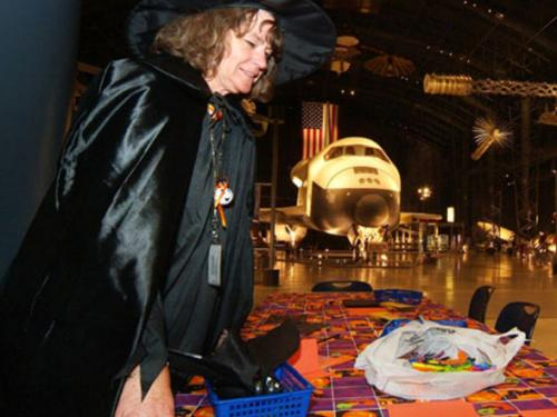 A Bewitching Curator at the Udvar-Hazy Center's Air & Scare