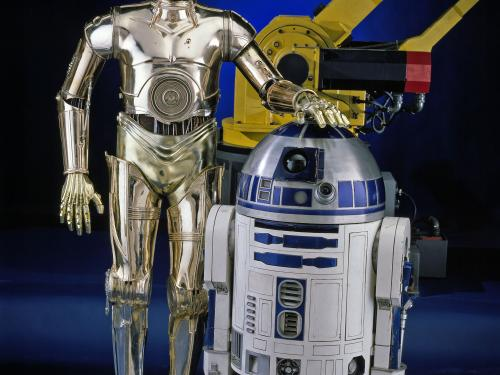 R2-D2 and C-3PO - Treasures of American History