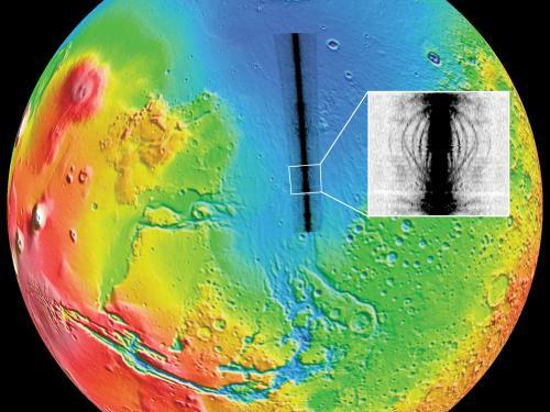 MARSIS radargram