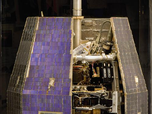 Relay 1 Communications Satellite at the Udvar-Hazy Center