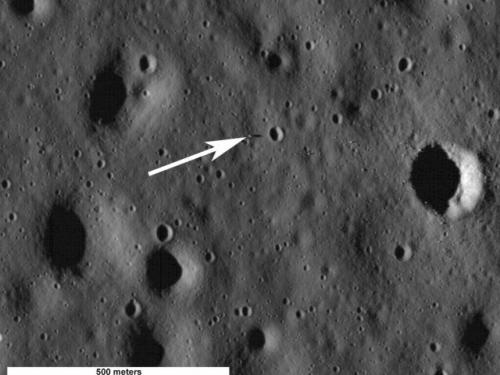 Apollo 11 Lunar Module on Moon