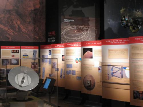 Exploring the Planets Gallery -- Mars Section