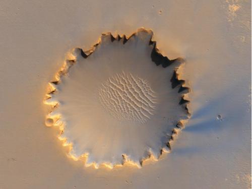 Victoria Crater -- Mars