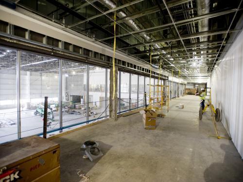 Resotoration Hangar Observation Deck