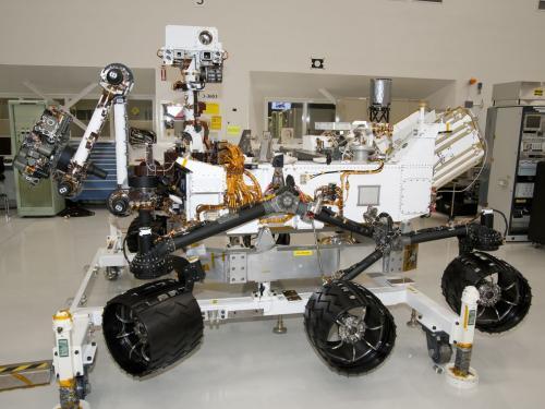 NASA Mars Rover Curiosity at JPL