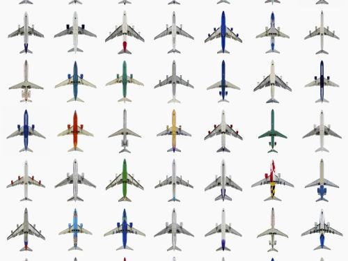 49 Jets on display in AirCraft: The Jet As Art