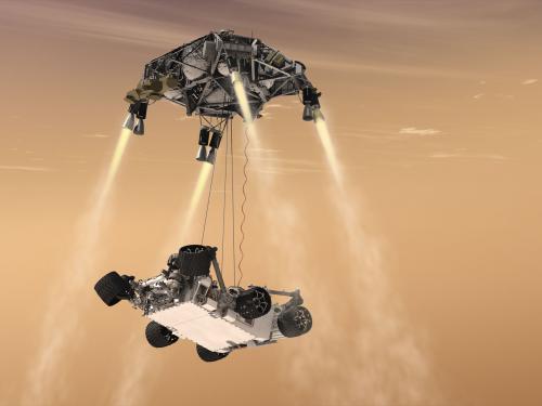 <em>Curiosity's</em> Sky Crane Maneuver
