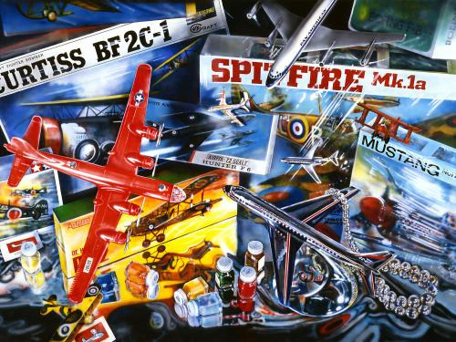 Audrey Flack - Spitfire (1973)