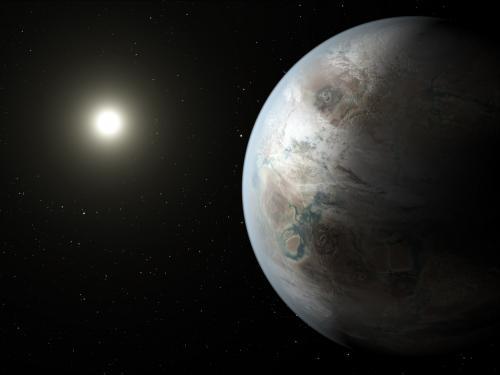 Artist Concept of Kepler-452b