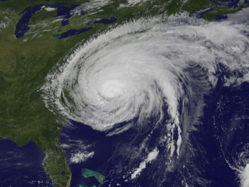 Hurricane Irene from the GOES-13 Satellite