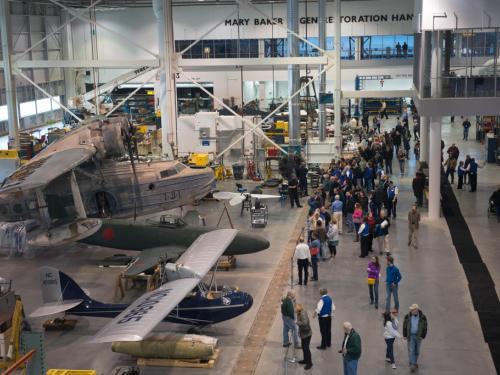 Tour of the Hangar