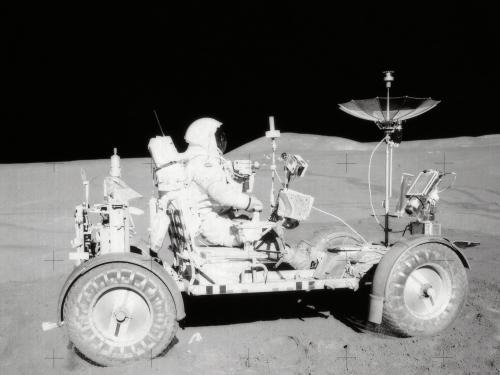 Apollo 15 Lunar Roving Vehicle (LRV)