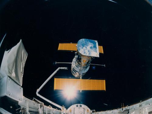 Deployment of Hubble Space Telescope
