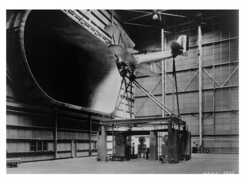 Vought O3U-1 in NASA Full Scale Wind Tunnel
