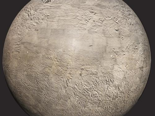 Photomosaic Globe of Mars