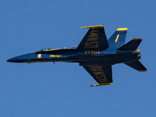 U.S. Navy Blue Angel F/A-18C Hornet