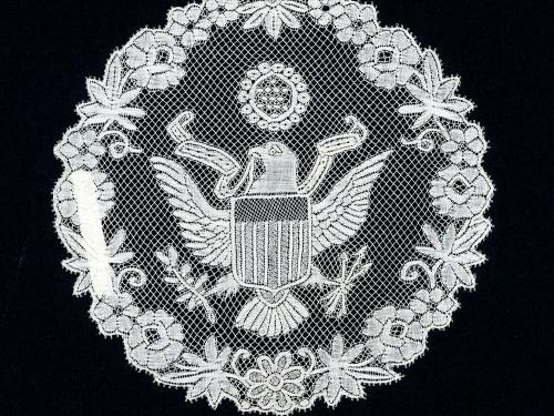 Belgian War Lace with Eagle