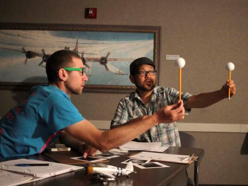 Teacher workshop explores Moon phase activity