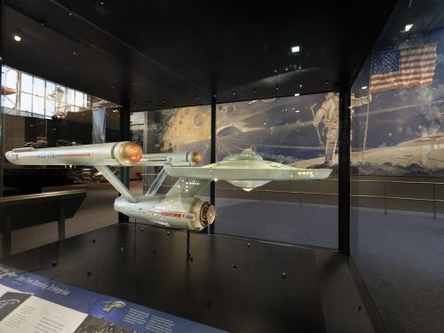 Studio Model of Starship Enterprise