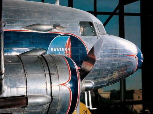 Douglas DC-3 in America by Air