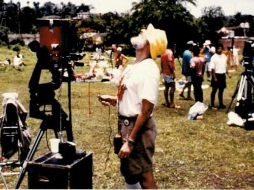 Volunteer Attends 1991 Solar Eclipse